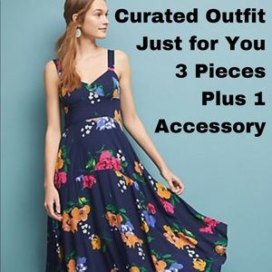 Curated outfit 3 clothing items and 1 accessory